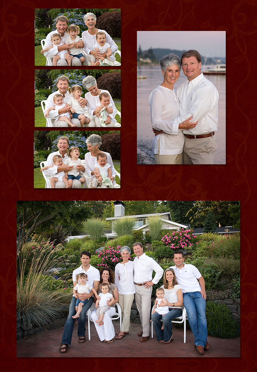 Family Portrait, Multi-Generational Family Portrait, Outdoor, Beach Session